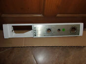 No Electronics Frigidaire 131691033 Washer Control Panel Heavy Duty Commercial