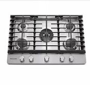 Kitchenaid Kcgs 350ess 36 5 Burner Gas Cooktop Stainless Steel