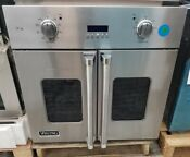 Viking French Door Single Wall Oven 30 Stainless Steel