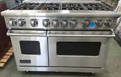 Viking 7 Series All Gas 48 Inch Stainless Range Made In 2018