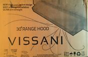 Vissani Black 30 Range Hood Local Pickup Only