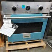 Viking 30 Single Electric Wall Oven Stainless Steel Professional Refurbished