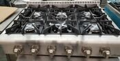 New Last Years Model Thor Kitchen 36 Rangetop Stainless 6 Burners Natural Gas