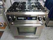Dacor Er30dsrch Renaissance 30 Pro Style Dual Fuel Natural Gas Range Used