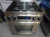 Dacor Dr30dng Distinctive 30 Inch Pro Style Dual Fuel Range In Stainless Used