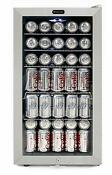 Whynter Beverage Refrigerator With Lock 120 Can Capacity New