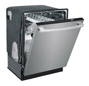 Sunpentown Spt 24 Built In Dishwasher W Heating Drying Smart Wash Stainless