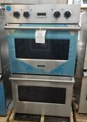 Open Box Viking Double Wall Oven 5 Series Stainless Steel