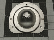 Wb36x192 Wb36x0192 Vintage Ge Range Oven Light Bulb Cover Assembly