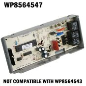 Genuine Oem Wp8564547 Whirlpool Kitchenaid Dishwasher Control Board 8564547