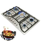 New Year Seckill 30 Cooktop Stainless Steel 5burner Built In Ng Lpg Gas Hob