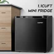 1 1 Cuft Compact Mini Fridge Upright Freezer Small Refrigerator Office Black