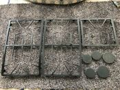 Thermador Range Grate Set For 36 Inch Gas Cooktop Used