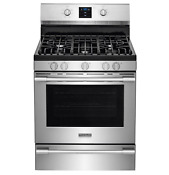 New Frigidaire Professional Stainless 30 Gas Range Rear Controls Fpgf3077qf