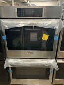 Bosch Benchmark 30 Double Wall Oven Hblp651uc Stainless Steel Convection