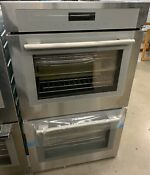 Thermador 30 Masterpiece Series Stainless Steel Double Built In Oven Med302ws