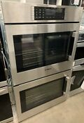Bosch 30 Benchmark Stainless Steel Double Wall Oven Hblp651lss Left Hinge