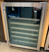 Marvel 24 Stainless Steel Single Zone Wine Refrigerator Ml24wsg0rs Stainless