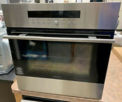 Wolf 24 E Series Stainless Steel Transitional Single Electric Oven So24testh
