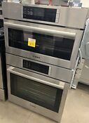 Bosch 30 Benchmark Stainless Steel Steam Convection Combo Double Oven Hslp751uc