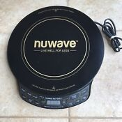 Nuwave Pic Gold Model 30242 Precision Induction Cooktop Tested