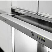 Kitchenaid Kwvu205yba 350 Cfm Exhaust Rating 30 In Integrated Slide Out Hood