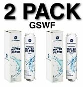 Ge Gswf Water Filter Cartridge Pc83301 Oem X 2 New In Box Sealed