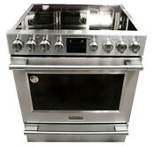 Frigidaire Professional Fpeh3077rf 30 Stainless Freestanding Electric Range