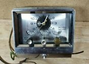 Vintage Range Oven Cookmaster Clock Timer As Is Parts Repair Steampunk