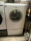 Bosch Electric Clothes Dryer And Pedestal