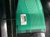 Used Black Ge Quiet Power 3 Dishwasher Control Panel Part 165d9622g002