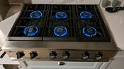 Ge Monogram 36 Inch Professional 6 Burner Gas Stainless Cooktop