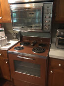 Vintage Frigidaire Flair Twin 30 Oven Working Condition With Exhaust Fan