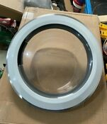 Whirlpool Duet Series Washer Front Door Assembly With Hinge From Wfw9200sq00
