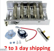 3403585 Dryer Heating Element For Whirlpool Kenmore Maytag W Thermostat Kit Fuse