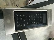 Whirlpool Microwave Power Control Panel W10510193 Stainless Steel