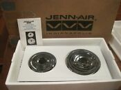 Jenn Air Conventional Coil Cartridge White A100 Ac110 New Cooktop Electric