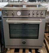 New Out Of Box Bertazzoni 30 Induction Top Range In Stainless Steel 4 Burners