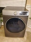 Samsung 4 0 Cu Ft 12 Cycle Gray Electric Dryer Model Dve22n6850x
