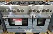 New Out Of Box Blue Star 48 Gas 8 Sealed Burners Range Stainless Steel