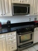 Kenmore Slide In Electric Range Microwave Combo Stainless