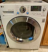 Lg Wm3477hw White All In One Washing Machine Washer And Dryer Ventless