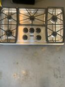 Kitchen Aid 5 Burner 36 Inch Gas Cooktop With Integrated Downdraft