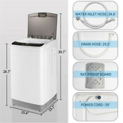 Compact Full Automatic Washing Machine Top Load Powerful Washer Quick Clean 8lbs