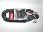 Carol Dryer Cord 30 Amp 4 10 6 Foot 250v 7500w 10 4 Srdt 4 Conductor Grounded