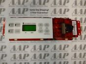 183d5586p004 Wb11k0065 White Ge Gas Oven Stove Range Control 1 Year Guarantee