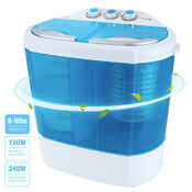 10 Lbs Modern Mini Portable Compact Washing Machine Washer Spin Dryer Laundry