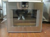 Gaggenau 400 Series Bo480611 30 Inch Single Electric Wall Oven