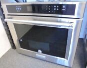 Kitchenaid Kose500ess 30 Convection Single Oven In Stainless Retail Is 2299