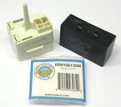 Refrigerator Relay Overload Capacitor W10613606 For Whirlpool Start Device